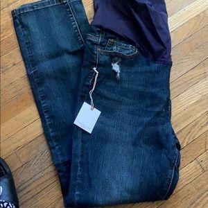 PINKBLUSH Maternity Jeans size 1x